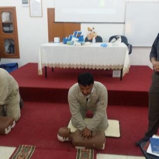 First Aid Hands Only CPR Training - ISCO - Integral Services Co. for Mechanical Contracting & Instrumentation WLL - Multi Disciplinary Contractor in Kuwait