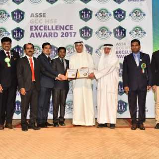 ASSE GCC Excellence Award - ISCO - Integral Services Co. for Mechanical Contracting & Instrumentation WLL - Multi Disciplinary Contractor in Kuwait