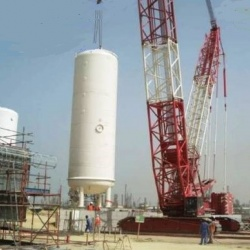 Construction of New Air Separation Unit for Shuaiba Oxygen - ISCO - Integral Services Co. for Mechanical Contracting & Instrumentation WLL - Multi Disciplinary Contractor in Kuwait
